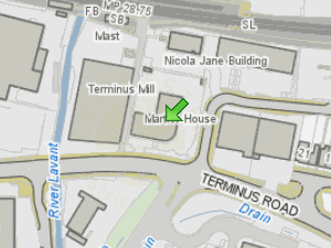 HydeMartlet - Housing Association location map
