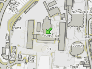 Social Services - Chichester location map