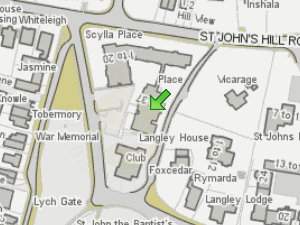 Greenoak Housing Association location map